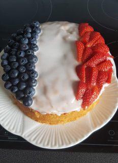 Mrs Scenini French Victoria Sponge Cake