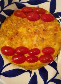 Mrs Walkers Spanish Omelette